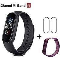 Smartband Xiaomi Mi Band 5, Preto (1 Pulseira Extra + 2 Películas)