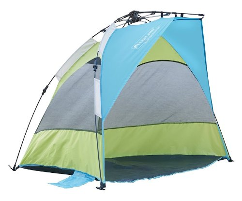 Lightspeed Outdoors Seaside Pop Up Sun Shelter Tent, Green/Blue