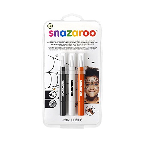 Snazaroo Face Paint Brush Pen, Halloween, Pack of 3]()