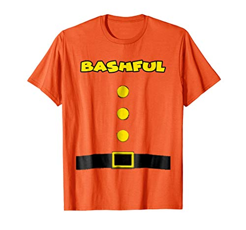 Bashful Dwarf Halloween Costume Bashful Dwarf T-shirt -