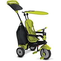 smarTrike Swing DLX 4-in-1 Glow Baby Tricycle (Green)