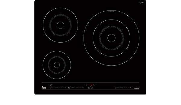 Vitro De Induccion Teka IBC63001 3 Fuegos: Amazon.es ...