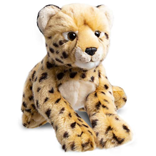 FAO Schwarz Cheetah Cub Stuffed Animal Toy Plush, Ultra Soft & Snuggly Doll for Creative & Imagination Play, 12""