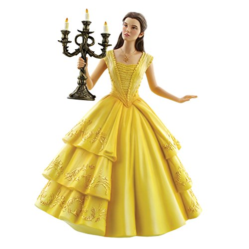 Enesco Disney Showcase Cinematic Moments Beauty and The Beast Live Action Belle Stone Resin Figurine