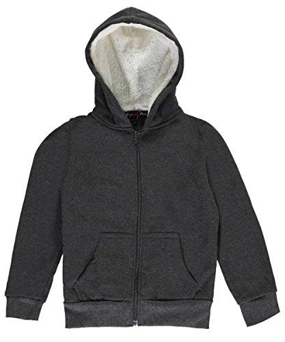 Zippered Girls Sweatshirt - 9