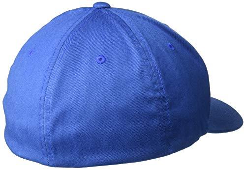 Flexfit Combed azul Wooly cobalto Mütze Flexfit Xs Chaqueta 7rfq7tw