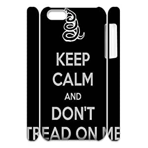 Don't Tread On Me 3D-Printed ZLB521403 Personalized 3D Phone Case for Iphone 5C