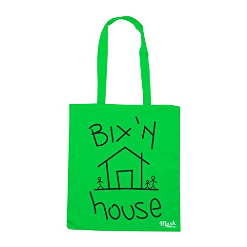 Borsa Bix N House - Verde prato - Funny by Mush Dress Your Style