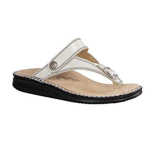 Finn Comfort - Sandalias de Piel para mujer blanco Weiß