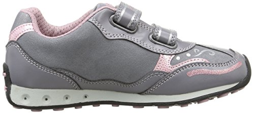 Geox Jr New Jocker Girl - Zapatillas de deporte para niña Grey