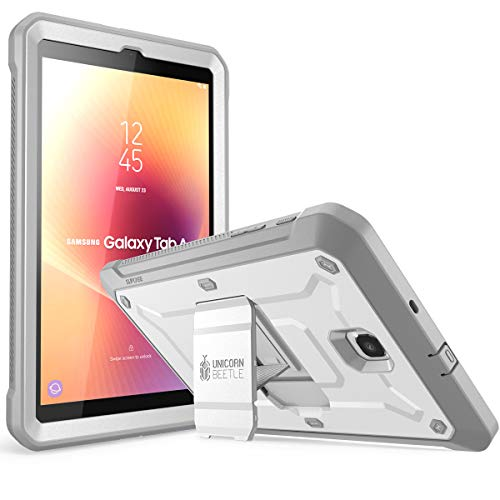 Samsung Tab A 8.0 Case 2018 Release, SUPCASE [Unicorn Beetle Pro Series] with Built-in Screen Protector Full-Body Hybrid Protective Case for Tab A 8.0 SM-T387 (2018) Only (White)