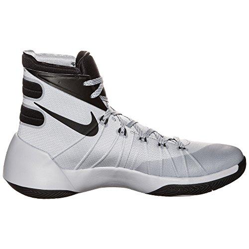 Nike Hyperdunk 2015 Men Basketball Shoes New Wolf Grey Black White mvzWHz4S