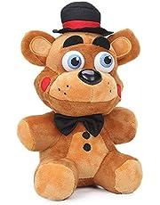 Ecgntr De knuffel speelde vijf nachten met Freddy Bear, Funtime Foxy, Bonnie en Freddy's knuffels De knuffelpop is 20 cm voor FNAFfans