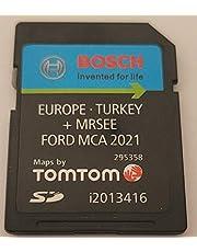 SD-kaart GPS Ford MCA V11 Europa 2021