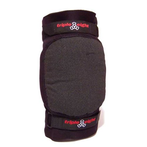 Triple 8 Second Skin Knee Pads (Black, Small)