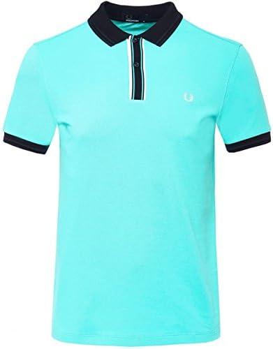 Fred Perry Hombres Camisa de Polo con Punta Placket Menta S ...