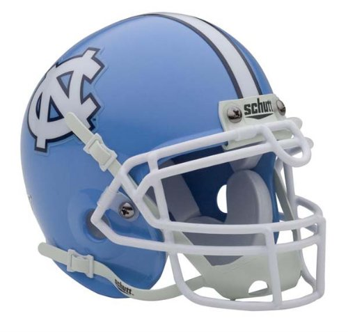 NCAA North Carolina Collectible Mini Football Helmet (Unc Football Helmet compare prices)