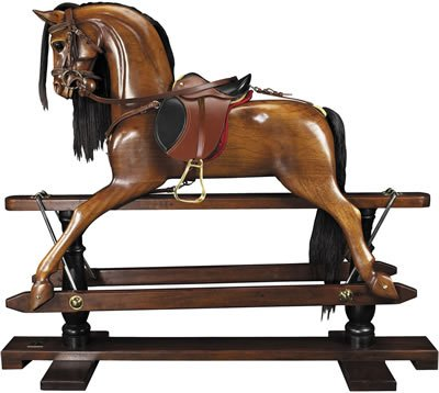 Authentic Models RH006B Victorian Rocking Horse (Victorian Rocking Horse)