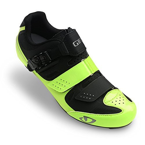 Giro Solara II Womens Road Cycling Shoes Highlight Yellow/Black 41.5