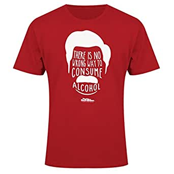 Parks and Recreation No Wrong Way To Consume Alcohol T-Shirt