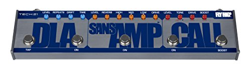 Tech 21 Fly Rig 5 Cali - SansAmp, Reverb, Delay, California Distortion, by tech21
