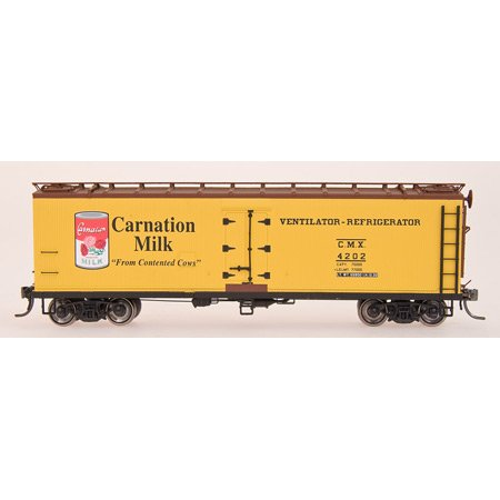 - HO RTR Wood Reefer, Carnation Milk IMR47722