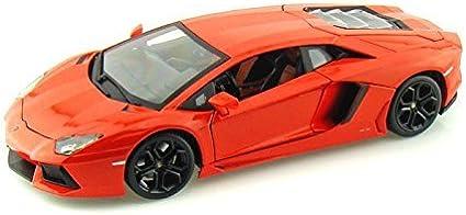 Lamborghini Aventador 2011 Lp700-4 Lp 700 Orange Coupe 1//18 Bburago Modell Aut..