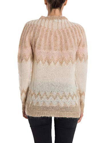 Maglia Woolrich W's Donna Cream Sweater Mohair Light Beige pIzqIf