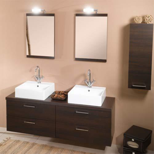 Iotti A11-Wenge-637509926175 Aurora Collection Bathroom Vanity, Wenge