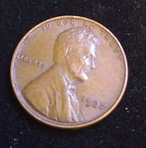 1937 - U.S. Lincoln Wheat Cent VG to FINE+ American Mint ()