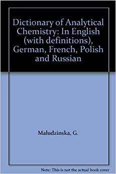 Dictionary of Analytical Chemistry