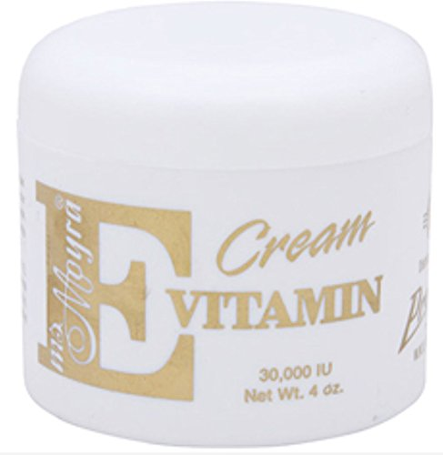 Ms. Moyra Vitamin E Cream 4 oz (Pack of 2)