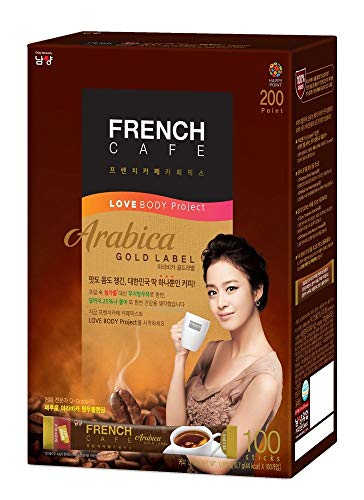 Namyang Arabica Gold Label  Instant Coffee Mix 1 Giftpack (100 sticks)