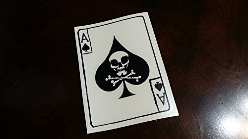- Vietnam Ace of Spades Death Card Style 2 Vinyl Die Cut War Soldiers Decal Sticker