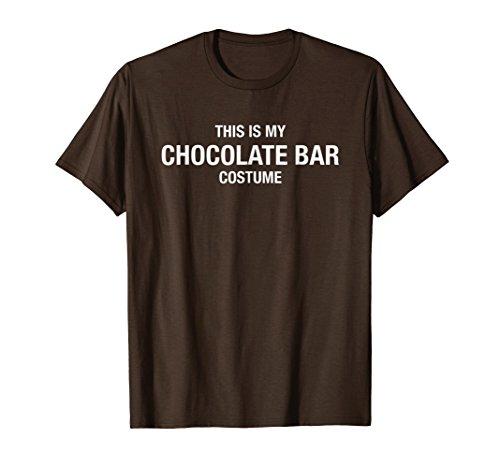Halloween My Chocolate Bar Costume Brown Shirt Funny]()