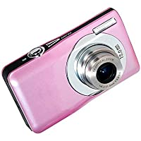 Webat Mini Digital Compact Camera 2.7 inch TFT LCD HD Compact Digital Camera with 8 x Digital Zoom - Pink