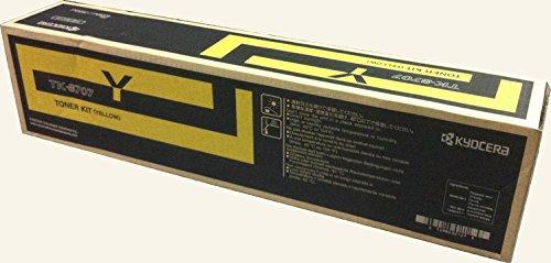 Price comparison product image Kyocera Yellow 30000 Page Yield Toner Cartridge for 6550ci 6551ci 7550ci 7551ci TK8707Y