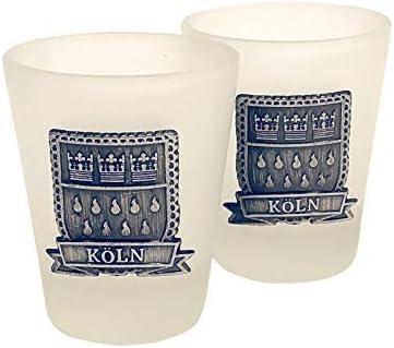 Köln Geschenkset - Herrengedeck (2xKölschglas 1x Flaschenöffner 2X Schnapsglas)