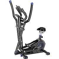 ZIZISHUANG 2-en-1 elíptica de la Bicicleta estática-Fitness Cardio Pérdida de Peso de la máquina Entrenamiento con…