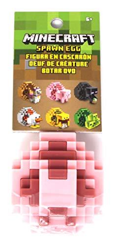(Minecraft Spawn Egg Mini Action Figure - Pig)