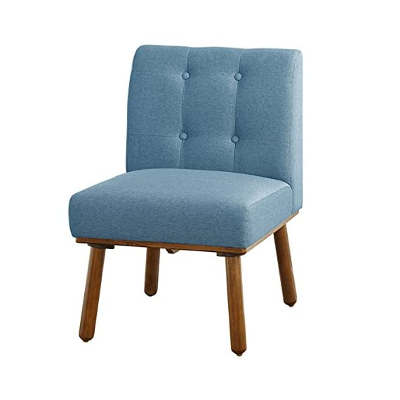 Simple Living Playmate Armless Accent Chair, Blue -  - living-room-furniture, living-room, accent-chairs - 412bU8S41jL. SS570  -