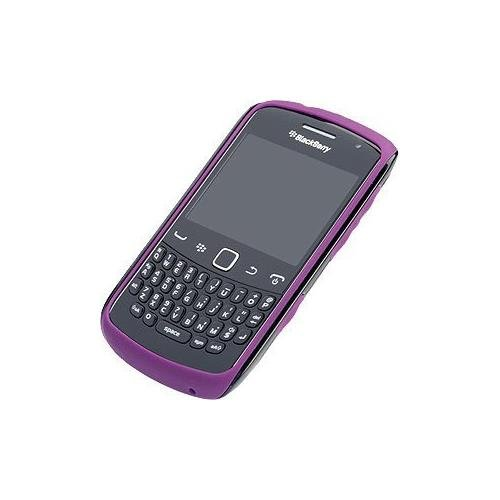 -302 Curve 9350 / 9360 / 9370 Black W/ Purple Premium Skin Retail Pkg - ()