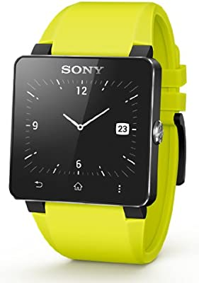 Sony SE20 - Correa para Sony Smartwatch 2, color amarillo
