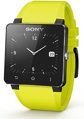 Sony SE20 - Correa para Sony Smartwatch 2, color amarillo