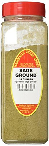Sage Creek Naturals - Marshalls Creek Spices X-Large Seasonings, Sage Ground 1, 14 Ounce