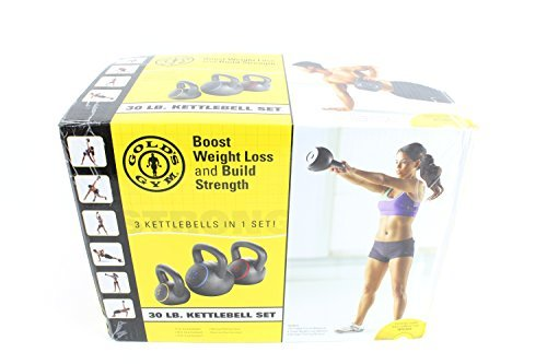 Gold's Gym Kettlebell Kit by Golds Gym