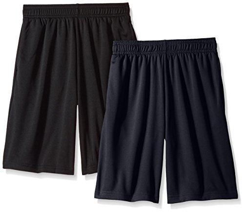 Hanes Boys' Big Sport 9 Inch Performance Mesh Pocket Short (Pack of 2) – DiZiSports Store