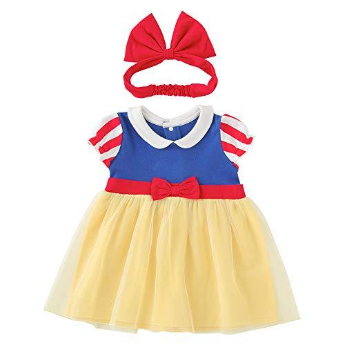 (チャックルベビー) chuckle BABY 白雪姫 半袖 ワンピースセット 80cm 白雪姫 P2290-80-21