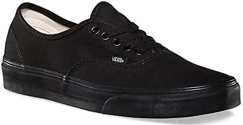 Vans Mens Authentic Core Classic Sneakers (37 M EU / 5.5 D(M) US, Black/black)