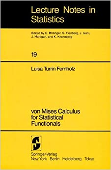 Como Descargar En Mejortorrent Von Mises Calculus For Statistical Functionals: 019 Epub Gratis